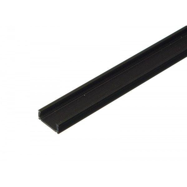 PREMIUMLUX Hliníkový profil MiniLUX ČERNÝ 1m pro LED pásky, ALU lišta